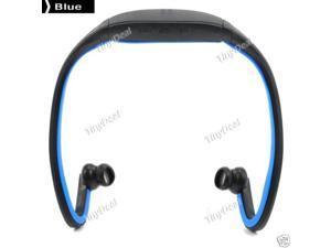 Wireless Bluetooth Sports Headset Earphone Headphone for Samsung iPhone HTC US Blue