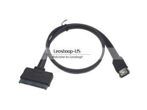 "Power eSATA USB 2.0 5V 12V Combo to 2.5"" 3.5"" 22pin SATA HDD Adapter Cable"