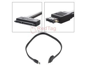 12V 5V Power eSATA+USB 2.0 Combo-Port to SATA(Data+Power) Cable for 2.5 3.5 inch