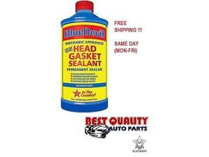 NEW Head Gasket Sealant Blue Devil Permanent Sealer 32 oz