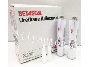 2 DOW U-428+ Auto Glass Windshield Urethane Primerless Adhesive Glue Sealant