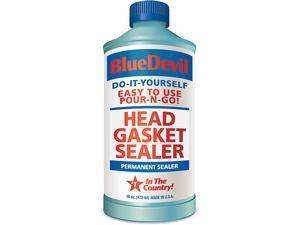 Head Gasket Sealant Blue Devil Permanent Sealer 16 oz