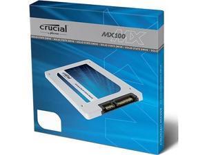 "Crucial MX100 CT256MX100SSD1 256GB 2.5"" SATA III MLC Solid State Drive (SSD)"