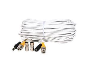 100 ft Security Camera Cable Video Power Surveillance BNC RCA DVR CCTV Wire