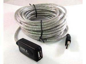 New 25FT USB 2.0 Active Repeater Extension cable 480Mbp 25 FT