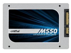 """NEW Crucial M550 256 GB SATA3 2.5"""" 7mm Solid State Drive SATA III 6Gb/s SSD CT256M550SSD1"""