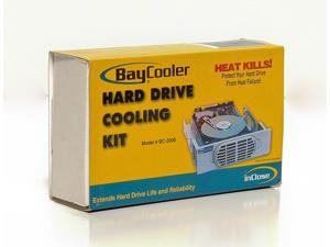 "5.25"" Bay Cooler Hard Drive Cooling Kit Ultra Quiet Cooling Fans EMI Shealding"