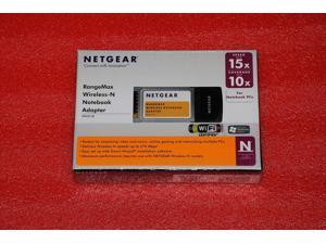 NETGEAR WIRELESS-N ADAPTER WN511B RANGEMAX PCMCIA WIRELESS NETWORK LAPTOP CARD