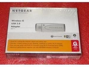 """E-buy World"" NETGEAR USB WIRELESS-G ADAPTER WG111 USB WIRELESS NETWORK ADAPTER CARD"