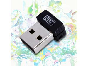 MINI USB 150Mbps 802.11n 802.11g 802.11b Wireless PC Lan Wifi Card Adapter