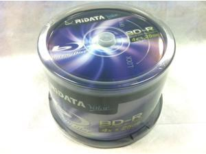 New 50 pcs Ritek Ridata Valor Blu-Ray 4x BD-R 25GB Blank Blu Ray Recordable Media Disc