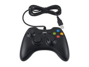 Black Wired USB Controller Gamepad XBox360 for PC Computer Laptop