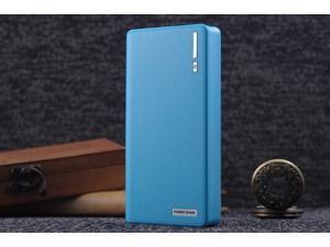 Blue 50000mAh Backup External Battery USB Power Bank Pack Charger for Cell Phone
