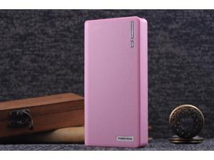 Pink 50000mAh Backup External Battery USB Power Bank Pack Charger for Cell Phone