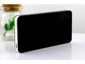 Black Ultrathin 50000mAh External Power Bank Backup Battery Charger for Cell Phone