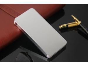 Silver Ultrathin 50000mAh External Power Bank Backup Battery Charger for Cell Phone