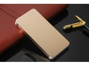 Gold Ultrathin 50000mAh External Power Bank Backup Battery Charger for Cell Phone