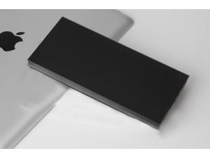 Black Ultrathin 20000mAh Portable External Battery Charger Power Bank for Cell Phone