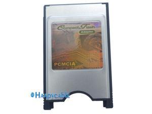 PCMCIA Compact Flash CF Card Reader Adapter For PC Laptop Notebook