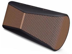 Logitech X300 Mobile Wireless Stereo Speaker, Copper Black ( 984-000392 ) MIB