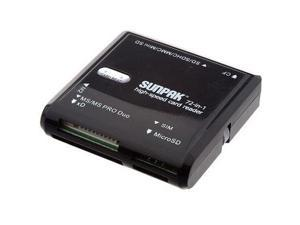 Sunpak 72-in-1 High Speed Card Reader - Universal USB 2.0 Card Reader with SIM