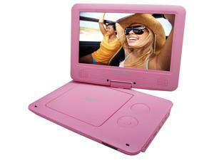Sylvania 9-Inch Swivel Screen Portable DVD/CD/MP3 SDVD9020B PINK