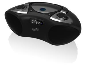 iHome Bluetooth Portable Boombox with CD player/FM for iPhone/Smartphone