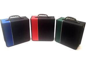 New Boostwaves Premium Cloth 360 CD DVD Blu-Ray Media Wallet Folder Carrying Case