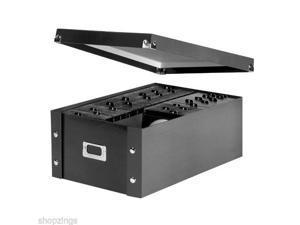 New CD Storage Box Case. Rack Holder Organizer Protection Drawer Display DVD Black