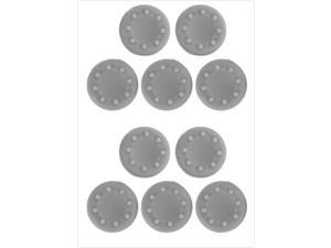 """E-buy World"" 10 PCS XBOX 360 / XBOX 360 Slim / XBOX One Game Controller Protection Silicone Cover - Grey"