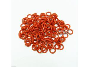 120pcs Keycap Rubber O-Ring Switch Dampeners RED For CHERRY MX