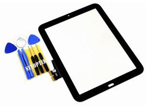 """E-buy World"" NEW for HP TouchPad Touch Pad Glass Lens Digitizer Screen Panel Front 9.7""+tools"