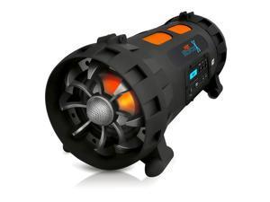 """E-buy World"" New PBMSPG200 Street Blaster 1000W Bluetooth Wireless BoomBox /USB Recording LCD"