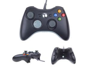 """E-buy World"" Black Wired Game Pad Joypad Remote Controller for Microsoft Xbox 360 Console"