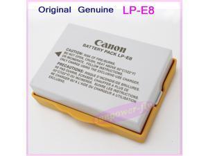 Genuine Original Canon LP-E8 Battery for Canon EOS 550D 600D 650D 700D T3i X7i