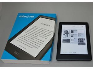 Kobo Glo HD eReader Wi-Fi 6in 4GB Black Touchscreen