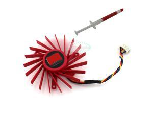 """E-buy World"" 60mm VGA Video Card Fan For ATI Radeon HD3850 HD4850 PLD06010B12HH High Quality"