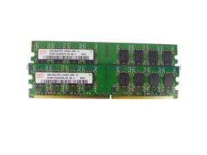Hynix 4GB 2X 2GB DDR2-800 PC2-6400 800MHz 240pin Desktop Memory DIMM RAM