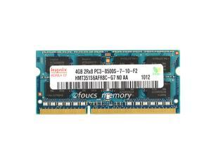 Hynix 4GB PC3-8500 DDR3-1066MHz 204Pin Laptop Memory RAM so-dimm