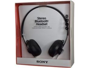 """E-buy World"" New Sony SBH60 Stereo Bluetooth Black Headset NFC Multipoint A2DP AVRCP"