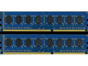 4GB (2X2GB) DDR3 MEMORY RAM PC3-10600 NON-ECC DIMM 1.5V