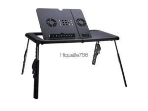 Portable Laptop Notebook Desk Stand Tray Stand PC Table Car Bed Sofa Folding