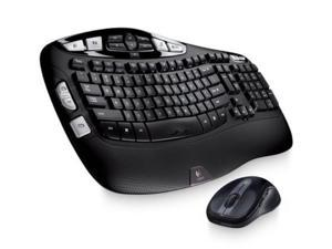 Logitech Mk550 Wireless Wave Keyboard & Mouse Combo K350 M510 Combo