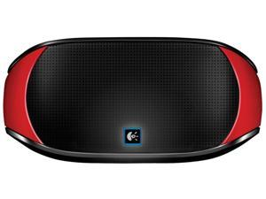 Logitech Mini Boombox Red Bluetooth Speaker for iPhone Smartphone Tablet Laptop
