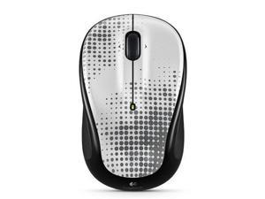 Logitech M325 Wireless Mouse - Perfectly Pewter w/unifying receiver PC Mac