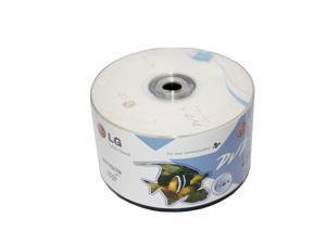 100-Pack LG Logo 16X DVD-R DVDR Blank Recordable Media Disc 4.7GB 120Min