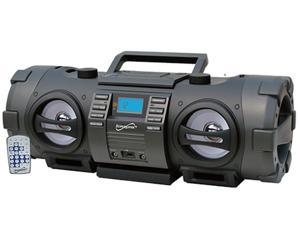 Supersonic SC-2711BT CD/MP3 Player +FM/USB Wireless Portable BOOMBOX+Bluetooth