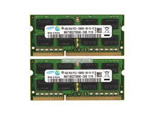 Samsung 8GB (2x4GB) DDR3 PC3-10600 DDR3 1333 Mhz 204pin sodimm Laptop Memory RAM