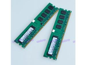 Samsung 2GB kit (2X1GB) PC2-6400 DDR2-800 800Mhz 240pin DIMM Desktop Memory
