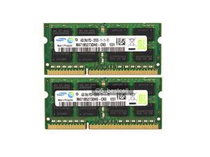 Samsung 8GB 2X4GB PC3-12800 DDR3-1600mhz 204pin Laptop Memory NON-ECC